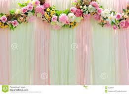 Wide Scene Wedding Background Stock Image Image Of Rose Romance