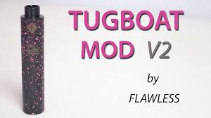 how to build unregulated dual 18650 box mod mosfet findmyvapes tugboat mod v2 by flawless vape shop