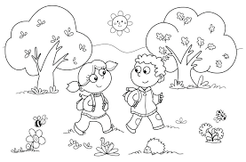 first day of school coloring sheets for kindergarten y5058 portfolio school coloring for school free pages