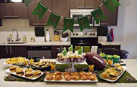 Super Bowl Table Decorations