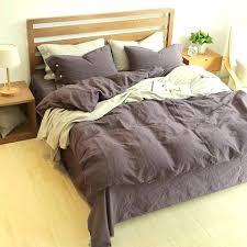 purple grey bedding sets flannel duvet cover purple king size comforter sets great linen cotton bedding