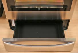 this lg oven has a warming drawer drawer56