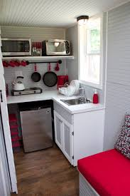 Tiny House Kitchen Kitchens Full Moon Tiny Shelters