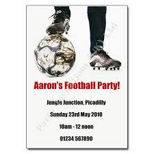 Football Party Invitations Templates Free Football Party Invitations Football Activity Party Invitations
