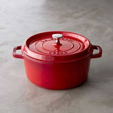 Staub <b>Cast</b>-<b>Iron</b> Dutch Oven, 4-Qt. | Williams Sonoma