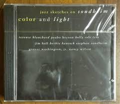 Color And Light Sondheim Cd Color And Light Jazz Sketches On Sondheim Lacrado