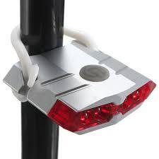 Bike Fiets Tail Lights Usb Oplader Licht Flash Lamp 4 Led
