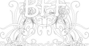 This set, that i have named bff, contains 2 coloring pages that you download and print yourself on your favorite paper. The Coloring Pages With Bff Images Series Theseacroft
