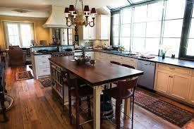 Kitchen Portable Kitchen Island Seating White Marble Table Dark