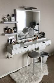 MakeupAddiction #Makeup #Vanity #IKEA