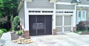 Adorable Garage Door Screen Magnetic Decorations Doors ...
