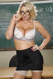 Naughty And Busty Professor Stripping In Class photos Leigh Darby.