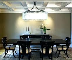 crystal chandelier dining room bronze dining room lighting linear crystal chandelier dining room