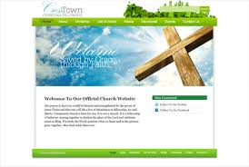 Church Website Templates Gorgeous Template The Awesome Web Church Website Templates Personal Letter