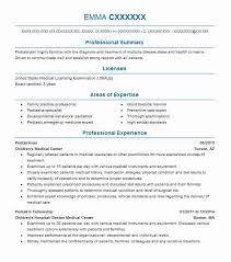 Pediatrician Resume