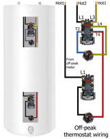 how to select and replace thermostat on electric water heater how to wire off peak water heater