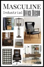 decor for office. everything you need to create your very own masculine home office i put together an decor for n
