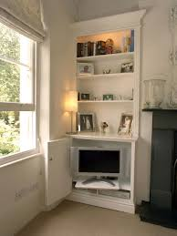 Hidden Tv Cabinets Upholstered Ottoman Hidden Tv Solutions In Shop Home Picture 3