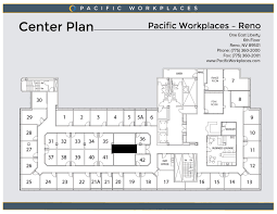 virtual office reno. Pacific Workplaces Reno Floor Plan Virtual Office