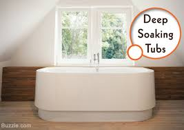 deep soaking tubs for small bathrooms