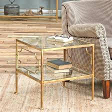 gold and glass table gold and glass end table gold and glass end table gold mercury gold and glass table