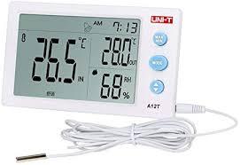 <b>UNI</b>-<b>T A12T Digital LCD</b> Thermometer Hygrometer temperature ...