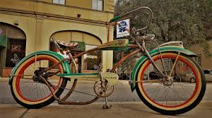 rockafella 1953 ruff firestone super cruiser rat rod bike
