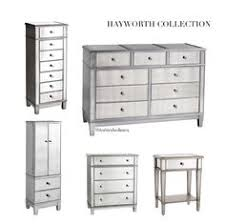 hayworth collection mirrored furniture. Hayworth Mirrored Furniture Collection | Dresser .