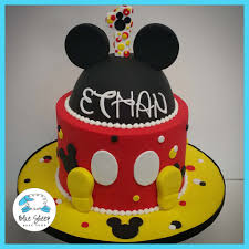Mickey Mouse Inspired Birthday cake ...
