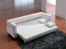 Small Picture Lovely White Leather Sofa Bed with White Leather Sofa Bed Cymun