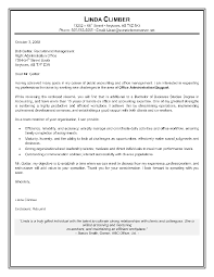 Cover Letter Sample Cover Letters For Administrative Assistant