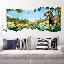 dinosaur wall