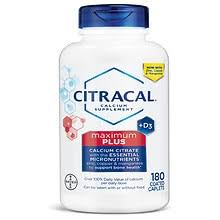 Citracal <b>Maximum Plus</b> Calcium Citrate With Vitamin <b>D3</b> Caplets ...