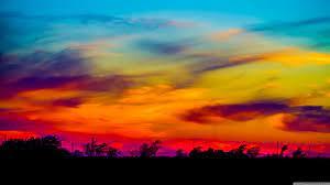 Colorful Sky Ultra HD Desktop ...