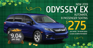 new honda 2019 odyssey lease specials in newton nj