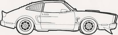 Small Picture Free Coloring Pictures Of Muscle Cars Coloring Pages Ideas