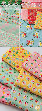 1224 best Fabrics images on Pinterest | Quilting fabric, Fabric ... & Backyard Roses by Nadra Ridgeway for Riley Blake Designs is an pretty  floral fabric collection available Adamdwight.com