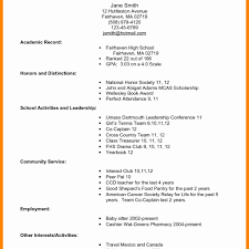First Job Resume No Experience How To Write A Resume For A Job With