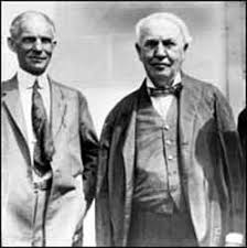 henry ford with thomas edison. Modren Ford Henry Ford And Thomas Edison Become Very Close Friends To With N