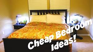 How To Decorate Your Bedroom On A Budget Cheap Bedroom Decorating Ideas Daily Vlog 478 Youtube