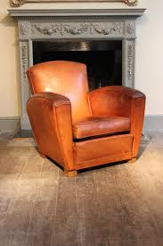 antique leather armchairs leather sofas 1930s 40s french leather club chair