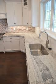 sealing quartzite countertops amazing kitchen features a white shaker cabinets paired with gray