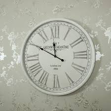vintage style clock. Beautiful Style Large Vintage Style Grey Wall Clock  In C