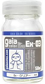 Gaianotes Color Chart Gaianotes Ex 03 Ex Clear 50ml