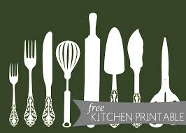 For Kitchen Art Kitchen Art Free Kitchen Printable The Anatomy Of Design