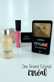 one brand tutorial l oréal southeast by midwest bgers beauty