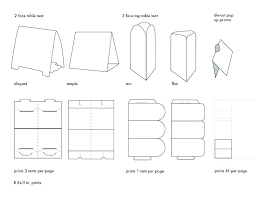 Fold Over Place Cards Folded Place Card Template Fold Over 6 Per Page Word Slimauntkate Co