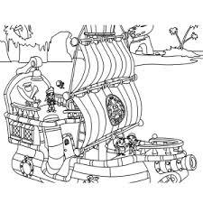 Leuk Voor Kids Jake En De Nooitgedachtland Piraten Kleurplaten