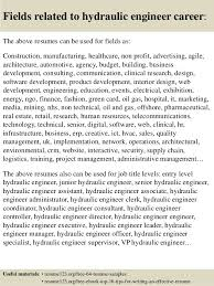 ... 16. Fields related to hydraulic engineer ...