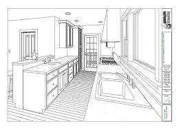 Image of: Galley Kitchen Floor Plans